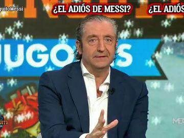 """JOSEP PEDREROL: """"Messi prepara su vuelta porque ya se ha ido"""""""