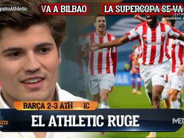 """Nico Rodríguez: """"Ser del Athletic es lo mejor del mundo"""""""