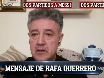 """RAFA GUERRERO: """"ME VOY A RAPAR AL CERO"""""""