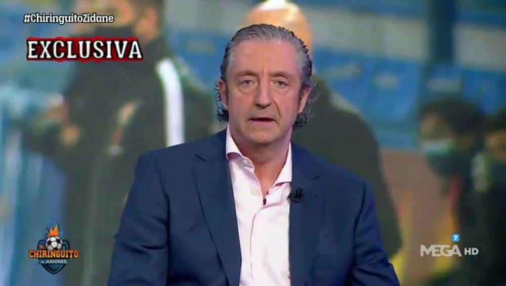 """Josep Pedrerol: """"ZIDANE NO SE TOCA"""""""