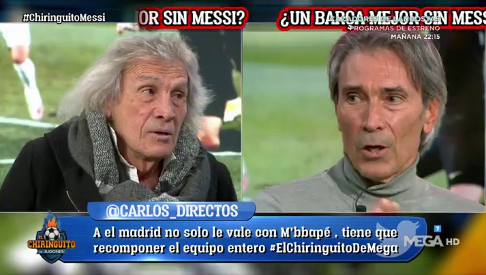 "Lobo Carrasco: ""GANAR SIN MESSI es ABURRIDO"""