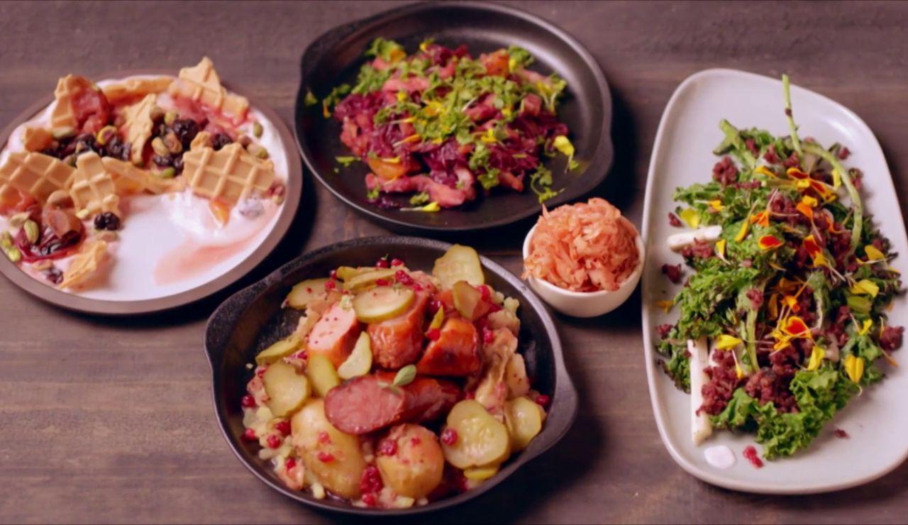 Un banquete inspirado en el Oktoberfest para ganar 10.000 dólares