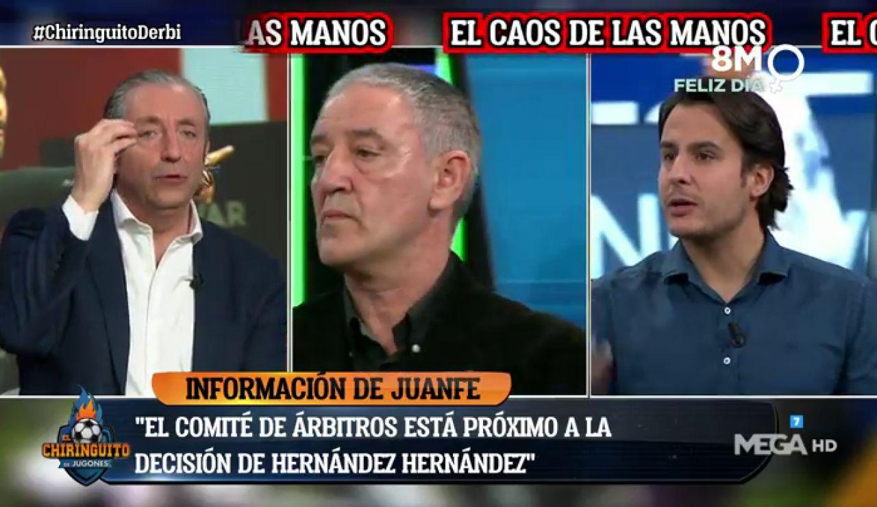 """Josep Pedrerol: """"EL ÁRBITRO HA ADULTERADO LA COMPETICIÓN"""""""