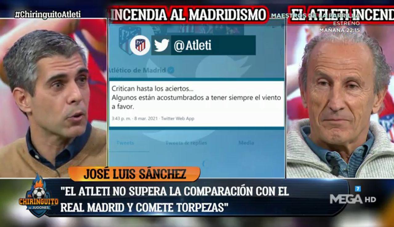 """José Luis Sánchez: """"Es un MENSAJE COBARDE y de EQUIPO PEQUEÑO"""""""