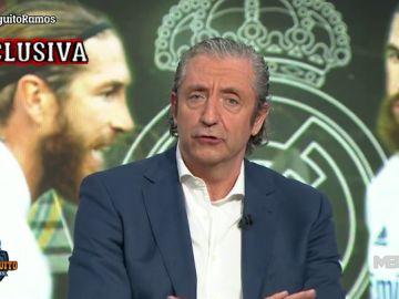 """Josep Pedrerol: """"EL MADRID LE MATIENE LA OFERTA DE UN AÑO SI SE BAJA EL 10%"""""""