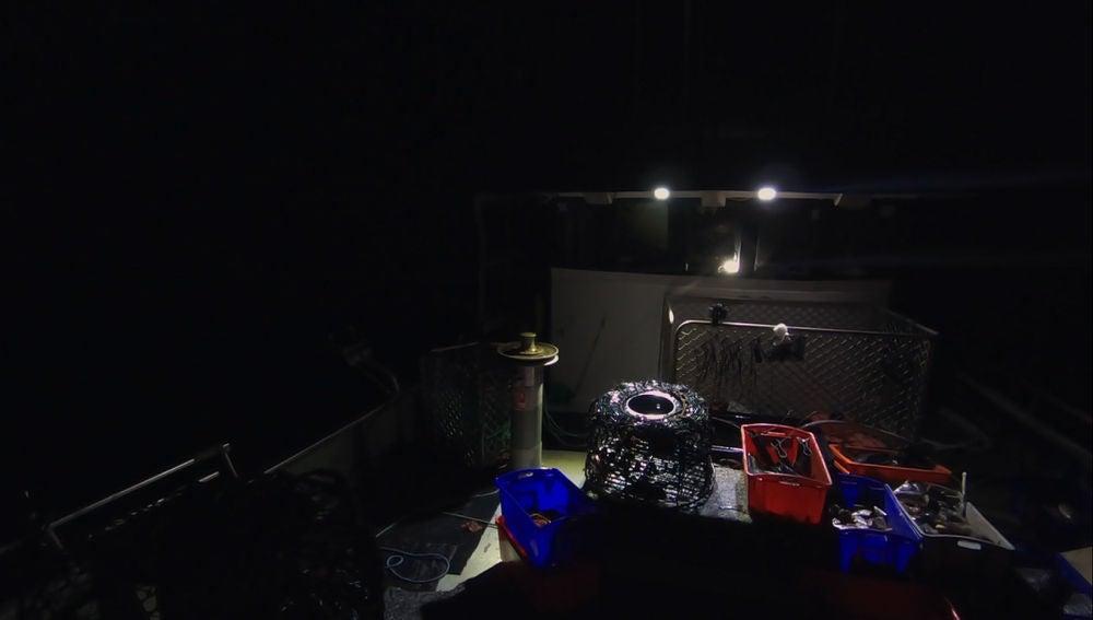 Un apagón en el barco