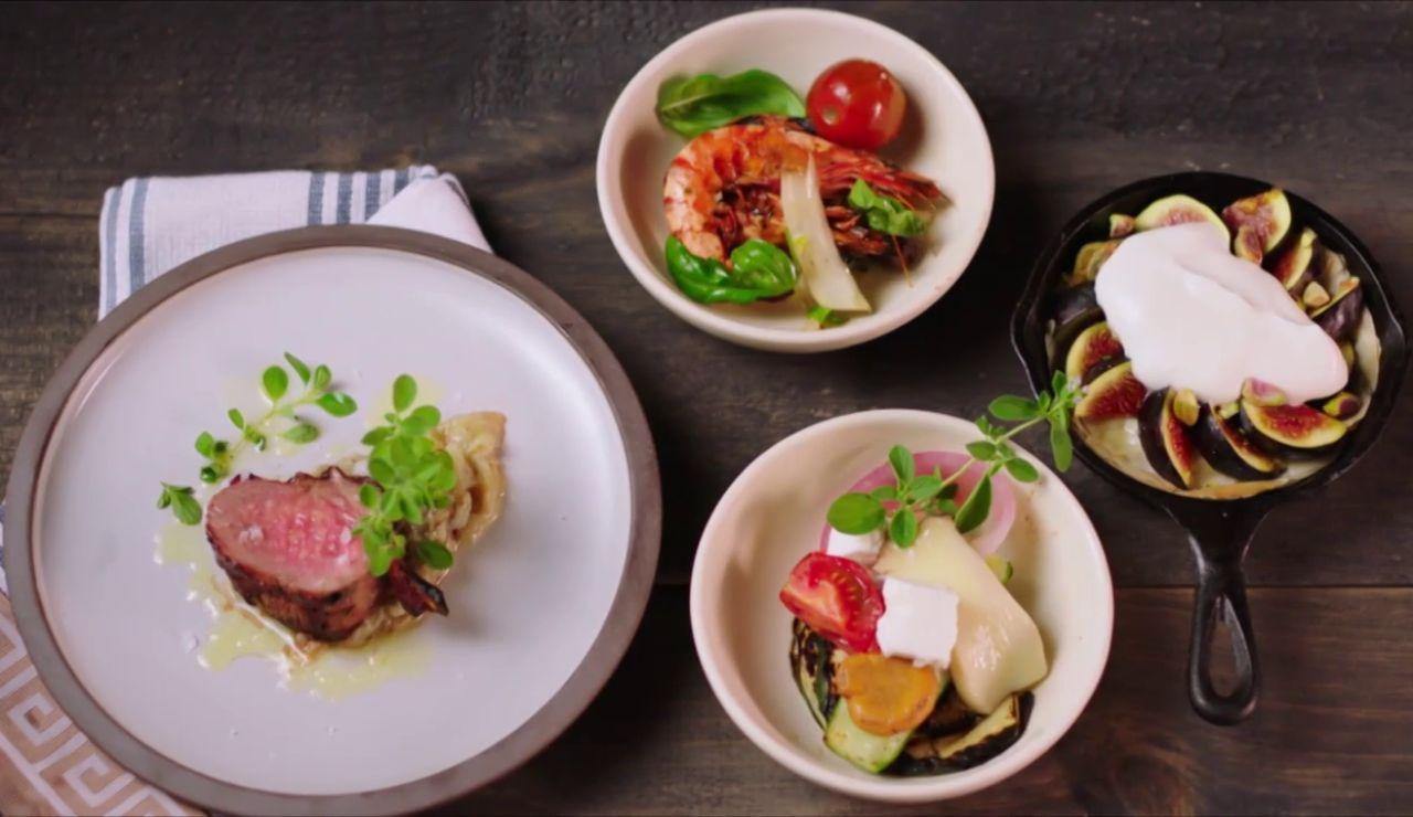 Ronda final de 'Maestros de la Parrilla': ¿Quién creará el mejor banquete griego?