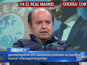 """Juanma Rodríguez: """"¿El R. MADRID? SOLOS CONTRA TODOS"""""""