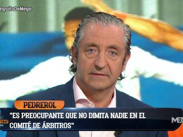 """PEDREROL: """"EL ARBITRAJE EN ESPAÑA ES UN DESASTRE"""""""