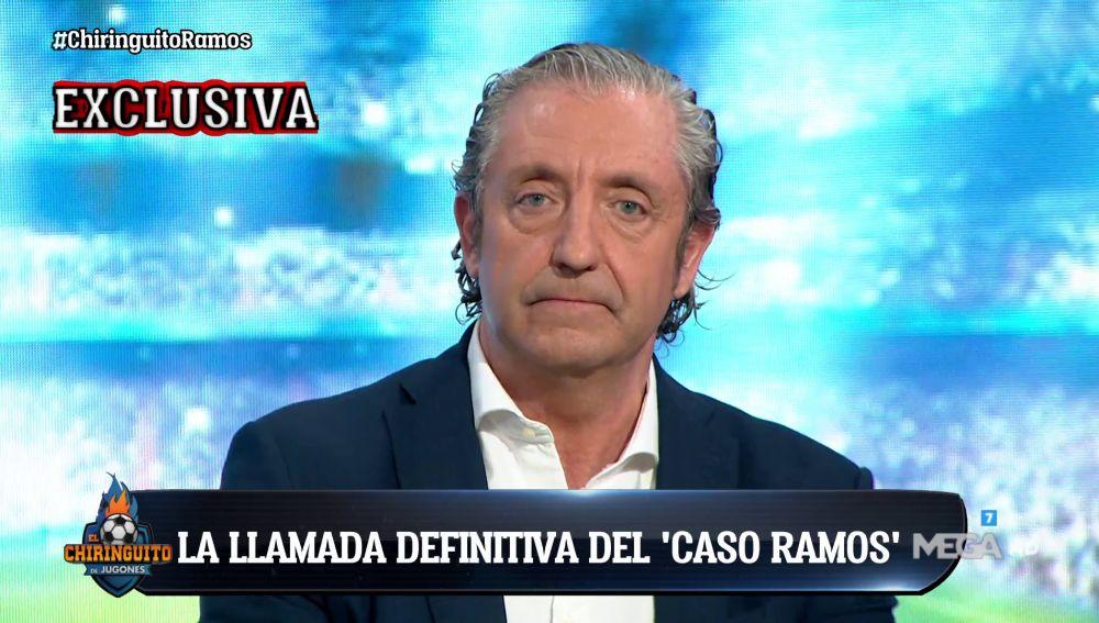 """Exclusiva de Josep Pedrerol: """"Florentino llamará a Ramos después de hablar con Zidane la semana que viene"""""""