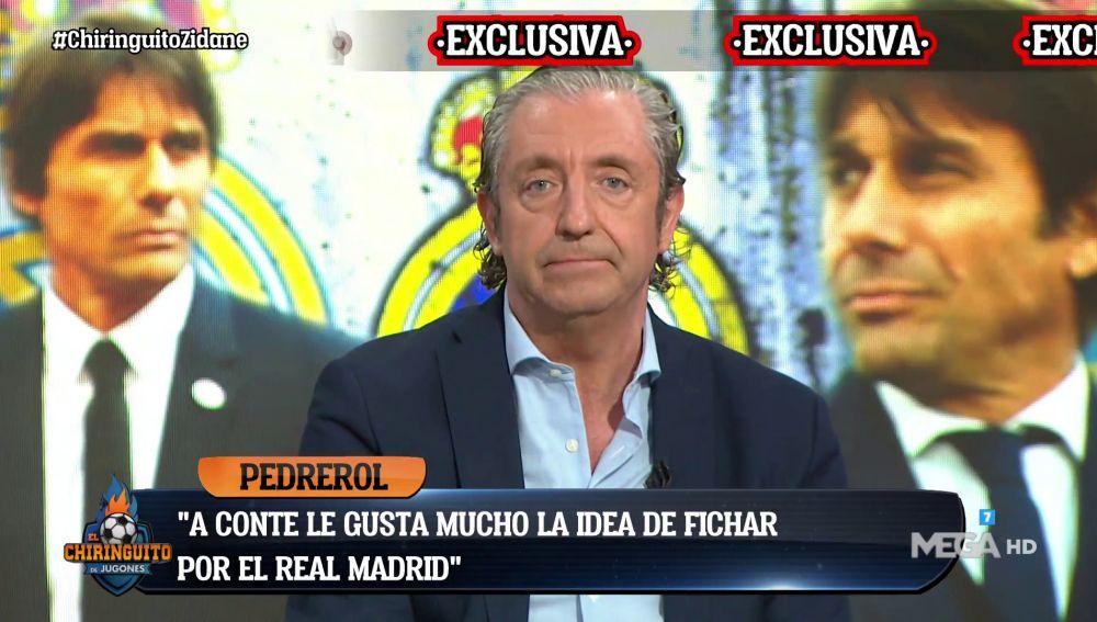 A Conte le gusta la idea de fichar por el Real Madrid
