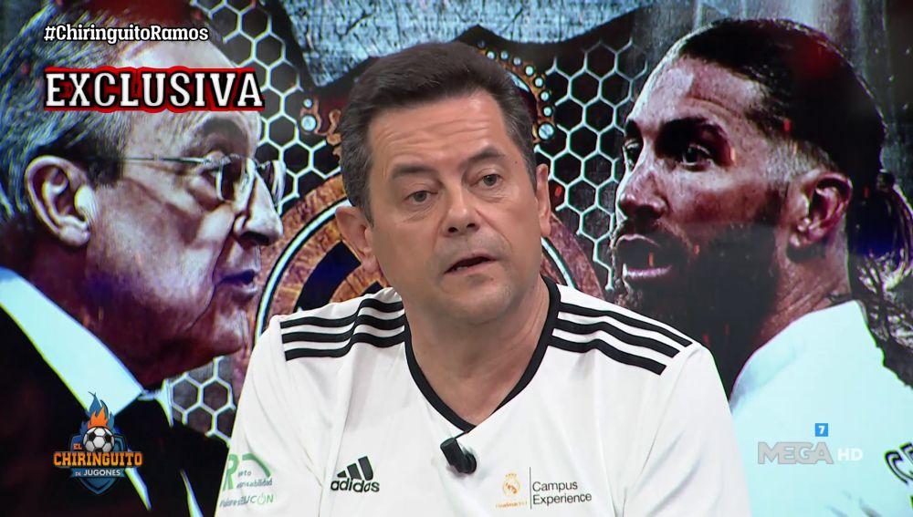 """""""SERGIO RAMOS ME HA DICHO QUE QUIERE QUEDARSE"""""""