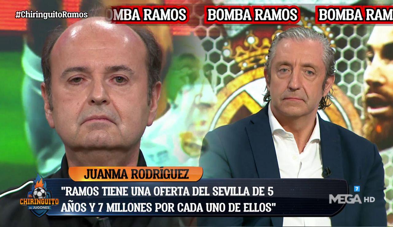 """""""RAMOS TIENE UNA OFERTA DEL SEVILLA"""""""