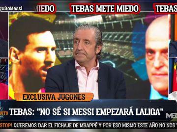 """""""NO SÉ SI MESSI EMPEZARÁ LA TEMPORADA EN EL BARÇA"""""""