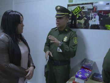 Detenida por una maleta que supuestamente no es suya