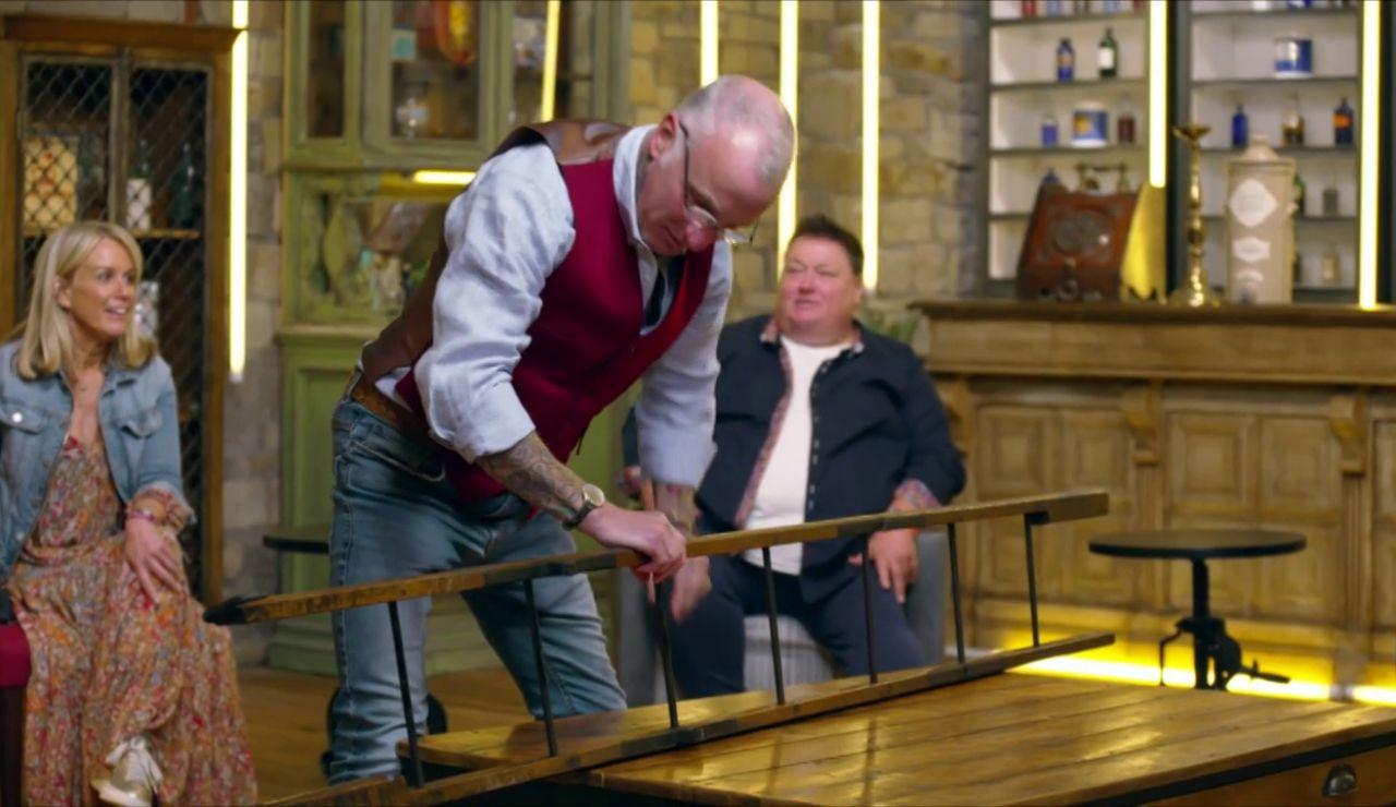 ¿Pagarías 300 libras por una escalera?