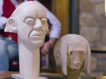 """¿Querrán los anticuarios estas """"feas"""" esculturas?"""