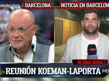 """""""REUNIÓN LAPORTA-KOEMAN TRAS EL BAÇA-BAYERN"""""""