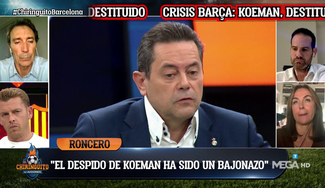"""""""EL DESPIDO DE KOEMAN HA SIDO UN 'BAJONAZO' COMO MADRIDISTA"""""""